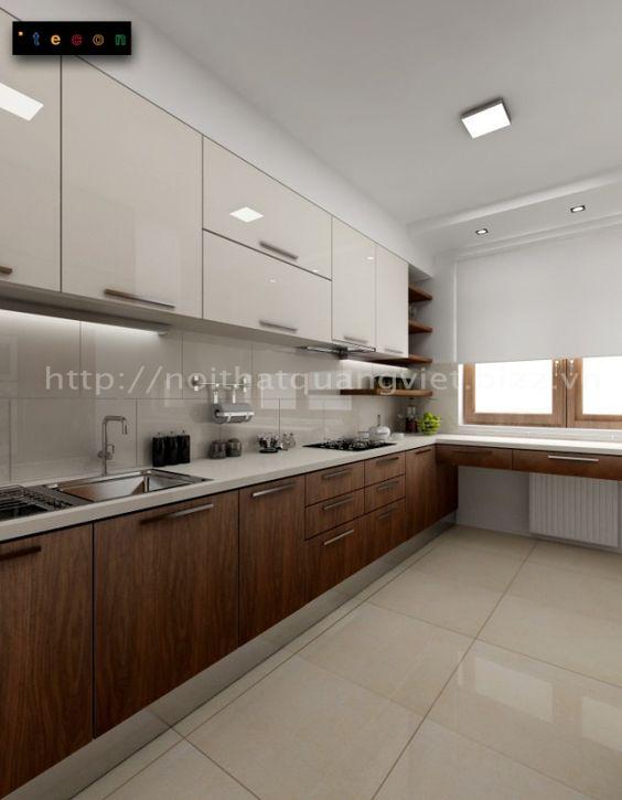 Phòng bếp 14<br> Nội Thất Quang Việt