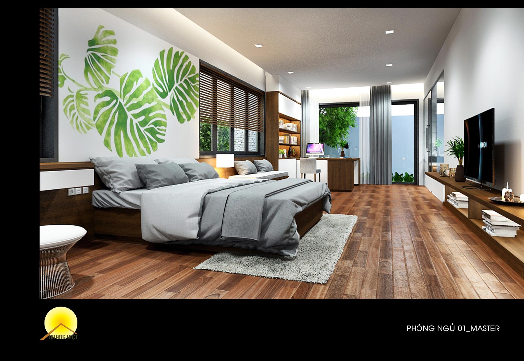 <b>Bộ phòng ngủ 2</b><br>Nội thất Quang Việt