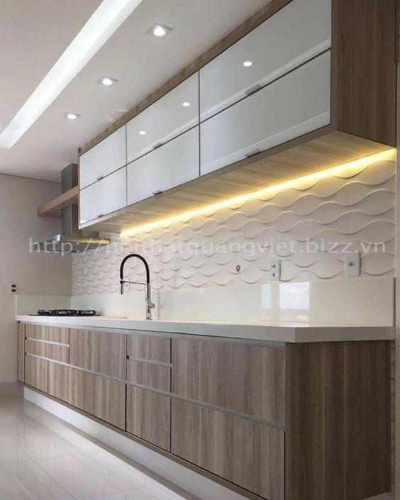 Phòng bếp 16<br> Nội Thất Quang Việt