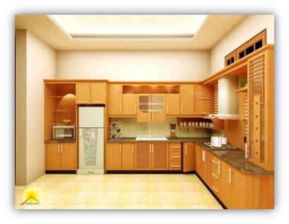 <b>Phòng bếp 5</b><br>Nội thất Quang Việt